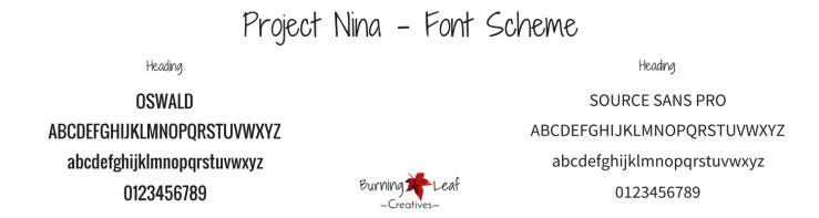 Project Nina - Font